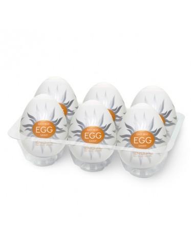 Tenga Egg Shiny (6 Stuks)