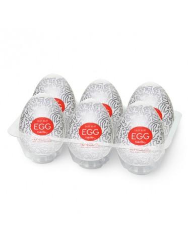 Tenga Keith Haring Egg Party (6 Stuks)