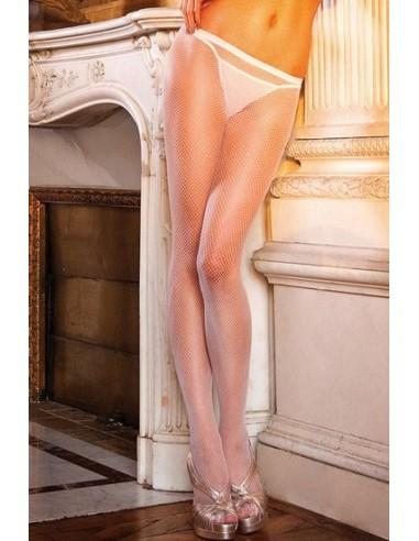 Baci Lingerie White fishnet pantyhose