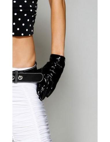 Forplay Handschoenen zwart vinyl