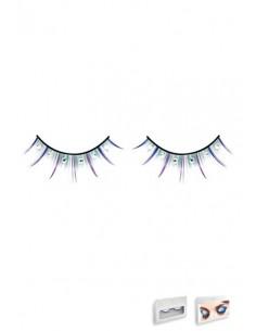 Baci Lingerie White rhinestone eyelashes