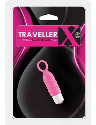 NMC Traveller x Silicone sleeve 10 Rhytms pink