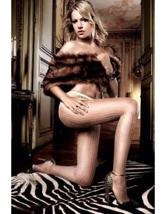 Baci Lingerie Jacquard pantyhose nude