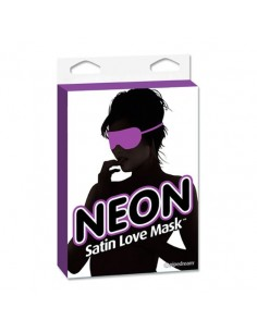 Fetish Fantasy Neon satin love mask
