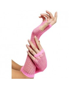 Fever fishnet gloves
