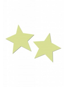 Pipedream Glow in the dark vibrating crotchless panty Stars