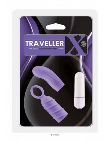 NMC Traveller x silicone 2 sleeves eith 10 Rhythms