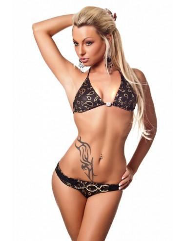 H. Nathalie Bikini met gouden versieringen