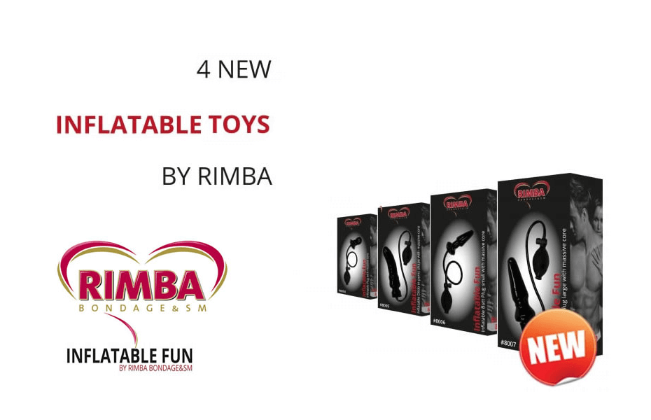 New: The Inflatable buttplugs from Rimba